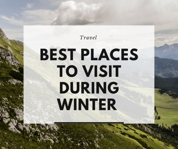 Best Places to visit in Nepal During Winter