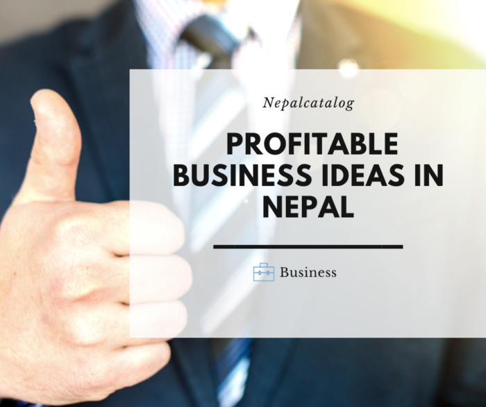 10 Small and Profitable Business Ideas in Nepal For Startups.